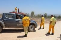 ÇAM AĞACI - Orman Yangını İhbarı Ekipleri Alarma Geçirdi