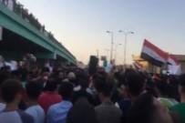 NECEF - Protestocular Başbakan El-İbadi'nin Otelini Bastı