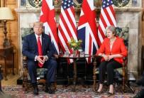 TİCARET ANLAŞMASI - Trump, İngiltere Başbakanı May ile görüştü