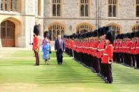 KRALIÇE ELIZABETH - Trump, Kraliçe Elizabeth İle Bir Araya Geldi