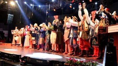 'Uluslararası Altın Karagöz Halk Dansları Yarışması'nda Final Gecesi