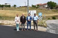 MEHMET UZUN - Vali Çeber,  Yapımı Biten Sıcak Asfalt Yollarını İnceledi