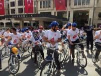 EDIRNEKAPı - Yüzlerce   Genç 15 Temmuz Şehitleri İçin Pedal Çevirdi