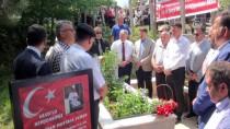 CUMHURİYET MEYDANI - 15 Temmuz Şehidi Yaman, Kabri Başında Anıldı