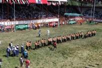 Er Meydanı'nda Başpehlivanlık İkinci Tur Güreşleri Sona Erdi