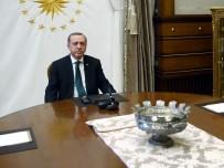 YEMİN TÖRENİ - Erdoğan, CHP'li Kesici İle Görüştü