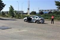 Eskişehir'de Trafik Kazası Açıklaması 2 Yaralı