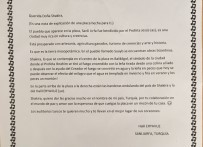 SHAKİRA - İş Adamından Ünlü Şarkıcı Shakira'ya Mektup Ve Bakır Levha