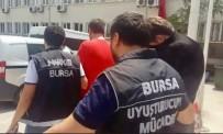 SENTETIK - İstanbul'dan Getirip Bursa'da Satacaklardı, Narkotik Polisine Yakalandılar