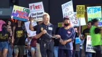 SİVİL İTAATSİZLİK - Los Angeles'ta Trump Karşıtı Gösteri