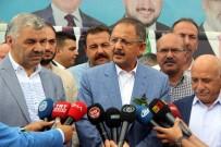 Önceki Dönem Çevre Ve Şehircilik Bakanı Özhaseki Memleketinde Törenle Karşılandı