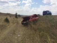 Otomobil Takla Atıp Devrildi  Açıklaması 1 Yaralı
