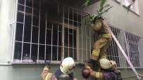 BEŞİKTAŞ - Sahipleri Tatilde Olan Dairede Çıkan Yangın Korku Dolu Anlar Yaşattı