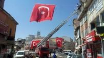 GAZILER - Sandıklı Belediyesi 15 Temmuz Şehitlerini Anma Programı İçin İlçeyi Bayraklarla Donattı