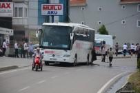 TUR OTOBÜSÜ - Sinop'ta Tur Otobüsü Seyir Halindeyken Alev Aldı