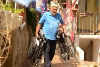 TEKERLEKLİ SANDALYE - Şuana Kadar 132 Tane Aldılar Açıklaması Kargoyla Mavi Kapak Geliyor