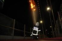 TREN SEFERLERİ - Yangın, YHT seferlerini durdurdu