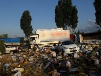 Zincirleme Kazada Ortalık Savaş Alanına Döndü