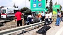 TİCARİ ARAÇ - Adana'da Trafik Kazası Açıklaması 3 Ölü, 6 Yaralı