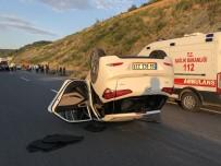 İLKAY - Alaplı'da Trafik Kazası Açıklaması 5 Yaralı