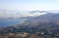 HELIKOPTER - Bodrum'daki Yangın Kontrol Altına Alındı