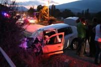 Bolu'da Trafik Kazası Açıklaması 2 Ölü, 6 Yaralı