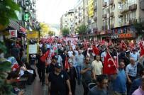 HAKAN ÇAVUŞOĞLU - Bursa'da Binler Bayrak Yürüyüşünde Buluştu