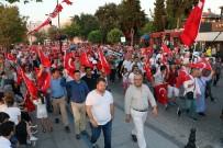 TÜRKİYE CUMHURİYETİ - Çanakkale'de 15 Temmuz Milli Birlik Yürüyüşü