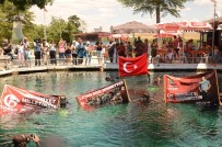 KURTULUŞ SAVAŞı - Dalgıçlar 15 Temmuz Şehitleri İçin Suya Daldılar