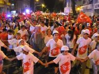 HAMDIBEY - Edremit'te Binler Milli Birlik Yürüyüşünde Buluştu