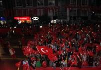 SEYFETTIN AZIZOĞLU - Erzurum'da 15 Temmuz Demokrasi Ve Milli Birlik Günü Coşkusu