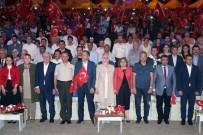 ŞEHİTLERİ ANMA GÜNÜ - Gaziantep'te Binler 15 Temmuz'u Kutladı