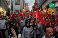 CEMAL ÖZTÜRK - Giresun'da 15 Temmuz İçin Yürüdüler