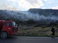 KOMANDO - Isparta Eğirdir'de Orman Yangını
