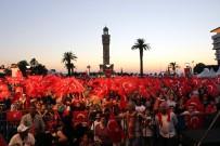 TARİHİ SAAT KULESİ - İzmir'de Demokrasi Nöbeti Başladı