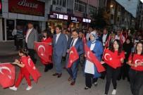 BELEDİYE BAŞKAN YARDIMCISI - Karabük'te 15 Temmuz Demokrasi Ve Milli Birlik Günü Yürüyüşü