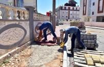 MEHMET AKİF ERSOY - Kepez'de Kaldırım Çalışmaları