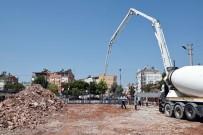 MEHMET AKİF ERSOY - Kepez'de Yeni Cami'nin Temelleri Atıldı