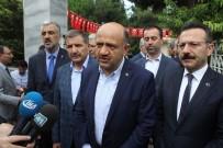 DONANMA KOMUTANI - Kocaeli'de 15 Temmuz'da Şehitlikler Ziyaret Edildi