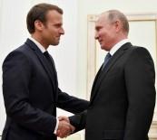 HıRVATISTAN - Macron' Putin'i Dünya Kupasına Ev Sahipliği Yaptıkları İçin Tebrik Etti