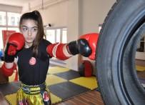 DÜNYA ŞAMPİYONU - Manisalı Milli Sporcu Rabia Ercan, Ömer Halisdemir İçin Ringe Çıkacak