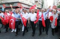 BURHANETTIN KOCAMAZ - Mersin'de 15 Temmuz Yürüyüşü