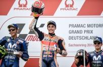 ALMANYA - Motogp'de Almanya Ayağını Marc Marquez Kazandı