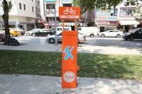 Sakarya'ya 9 Adet Bisiklet Tamir İstasyonu Kuruldu