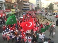 Sungurlu'da 'Milli Birlik' Yürüyüşü Düzenlendi