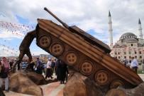 GAZIOSMANPAŞA ÜNIVERSITESI - Tokat'ta 15 Temmuz İçin Anlamlı Anıt