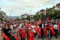 Tunceli'de '15 Temmuz Demokrasi Ve Milli Birlik Günü'Nde Binlerce Kişi Yürüdü