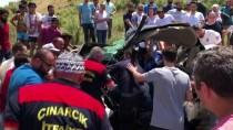 Yalova'da Kamyon İle Otomobil Çarpıştı Açıklaması 2 Ölü, 2 Yaralı