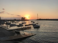 Akçakoca'da Gün Batımı İzleyenleri Hayran Bırakıyor