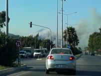 AMANOS DAĞLARI - Amanos Dağları'nda Çıkan Yangın Devam Ediyor